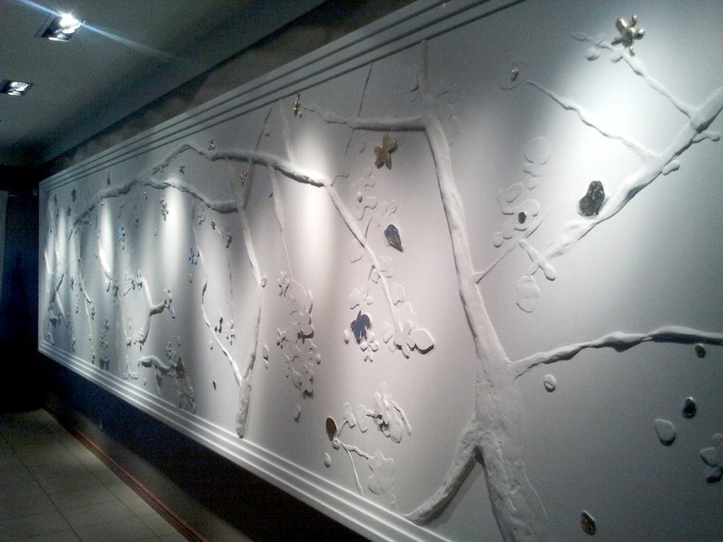panel gipsowy widok